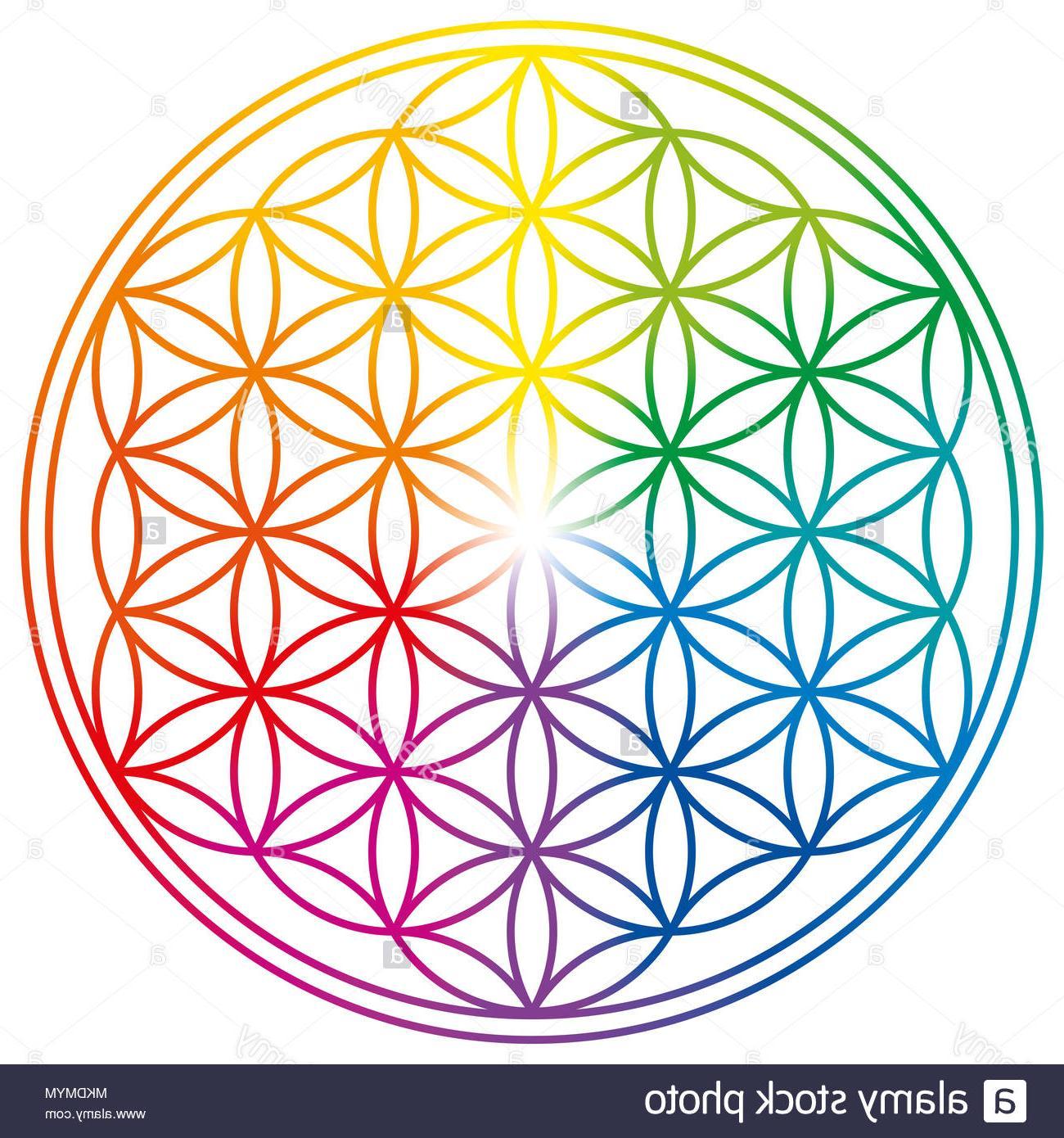 géométrie sacrée fleur de vie