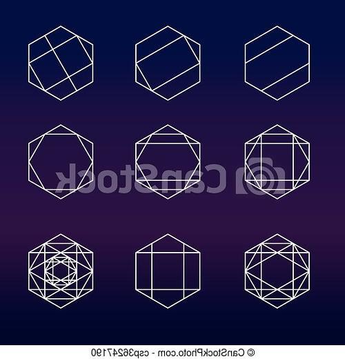 géométrie sacrée hexagone