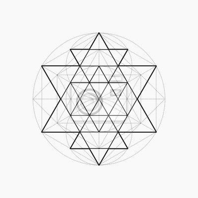 géométrie sacrée triangle